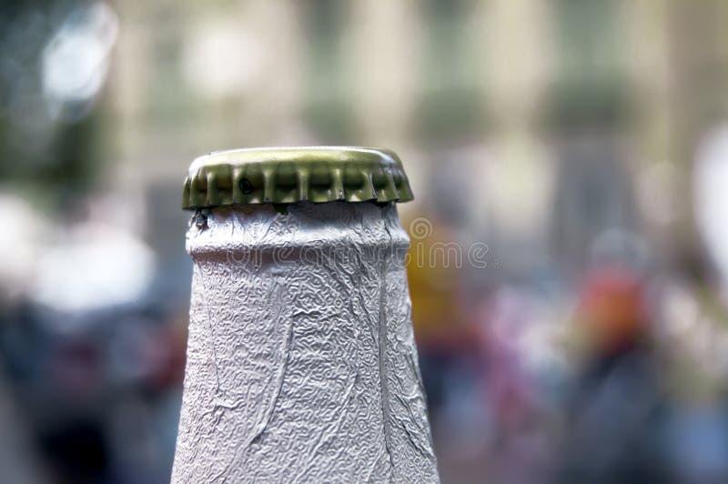 Cappuccio della birra fotografie stock libere da diritti