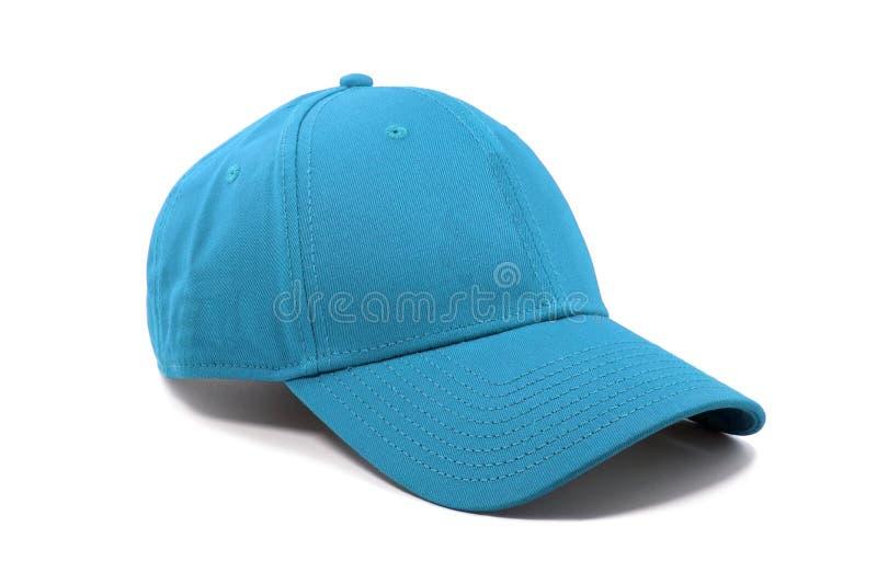 Cappuccio di colore degli azzurri di modo isolato immagini stock libere da diritti