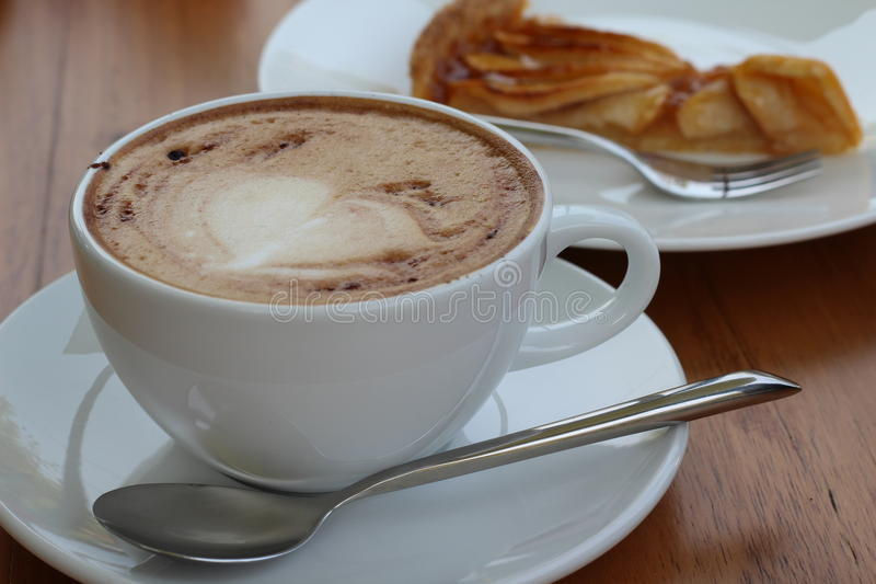 Cappuchino chaud photo stock