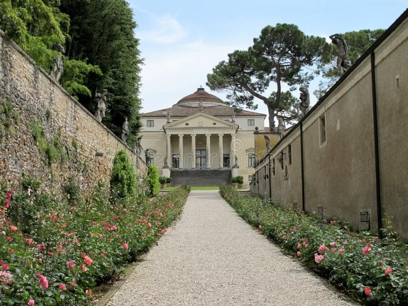 Capra di Almerico della villa, La Rotonda fotografia stock libera da diritti