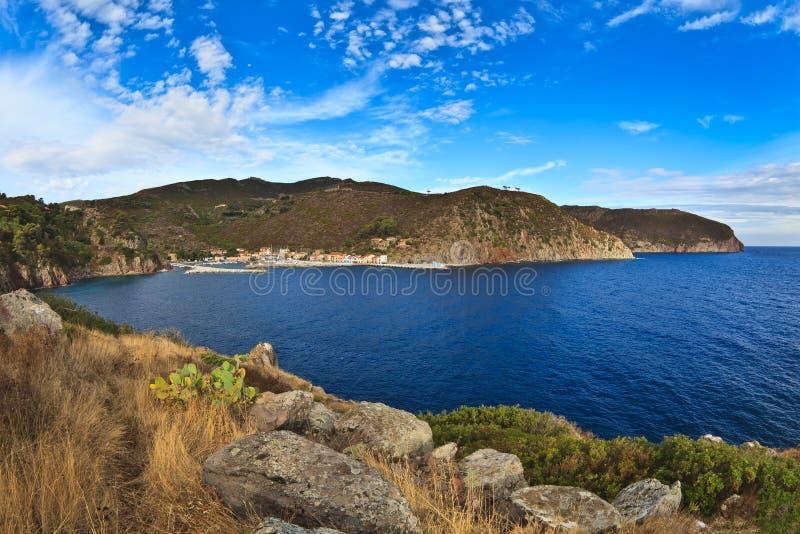 Capraia Island. royalty free stock photos