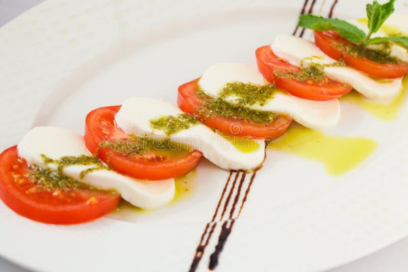 caprese σαλάτα στοκ φωτογραφία