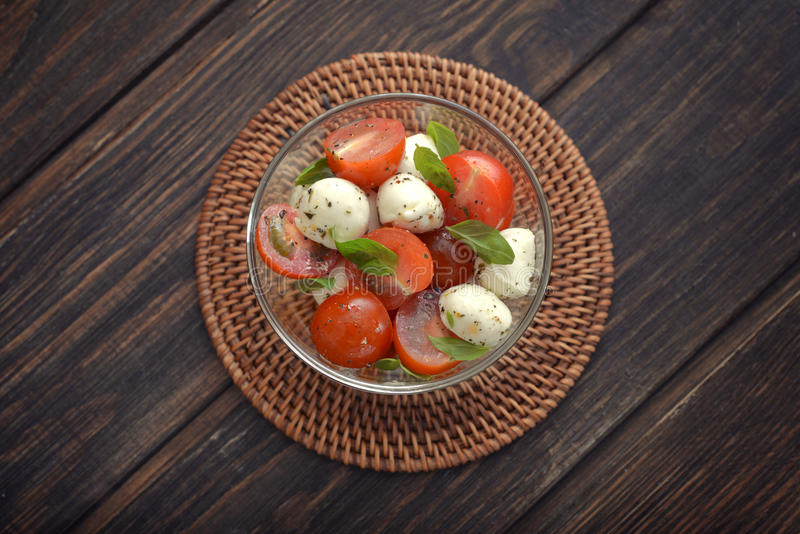 Download Caprese salad stock photo. Image of olive, green, background - 39308264
