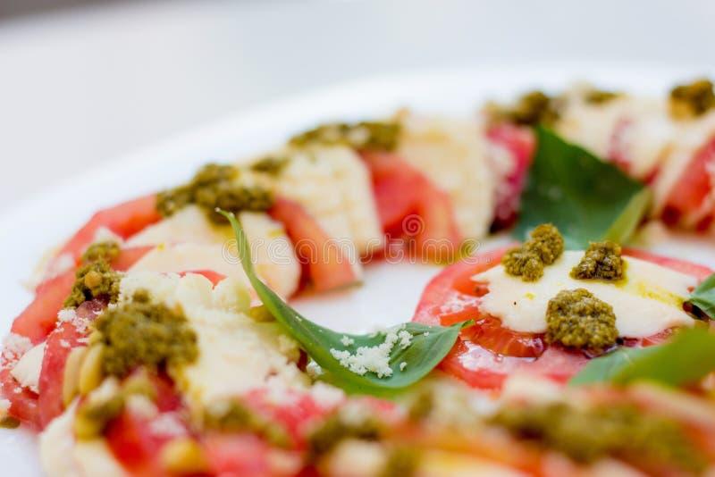 Caprese Salat stockbild