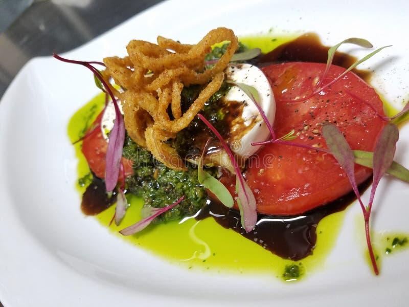 Caprese tomaat royalty-vrije stock afbeelding