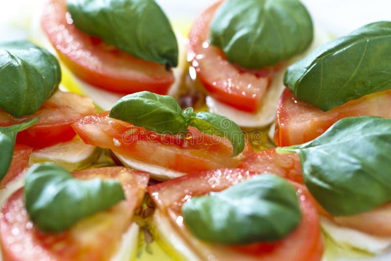 caprese włoska sałatka obraz stock