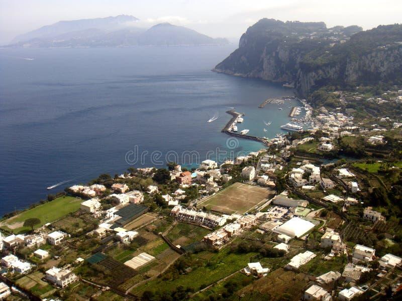 Capri小岛 免版税库存图片