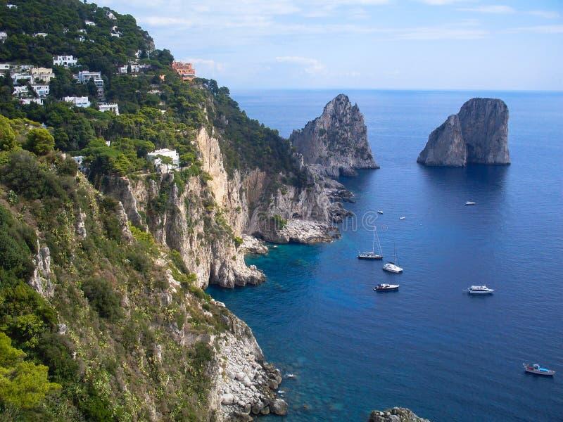capri意大利 免版税图库摄影