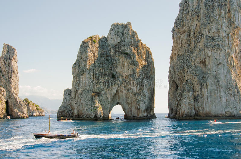 Capri ö, Italien, Europa arkivbilder