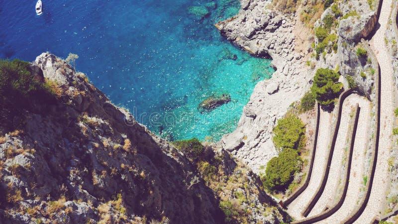 capri Италия стоковые изображения