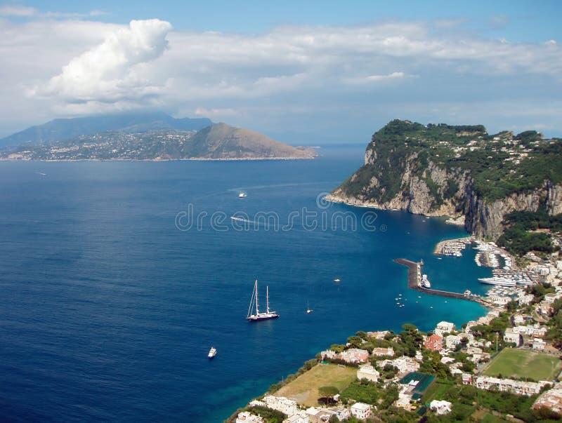 Capri stock photo
