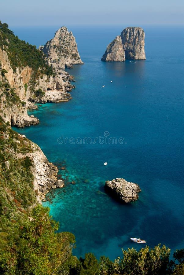 Capri lizenzfreie stockfotos