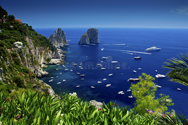 Capri stockfotos