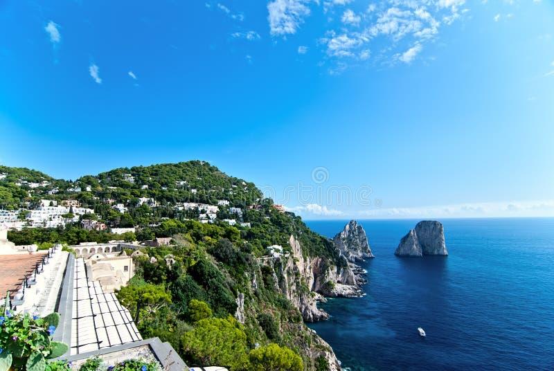 Capri. image libre de droits