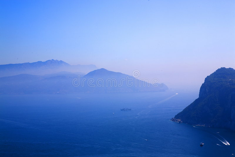 Capri royalty free stock photos
