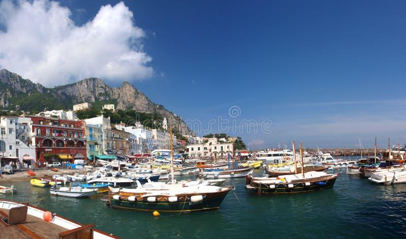 Capri, Capri Eiland, Italië stock foto