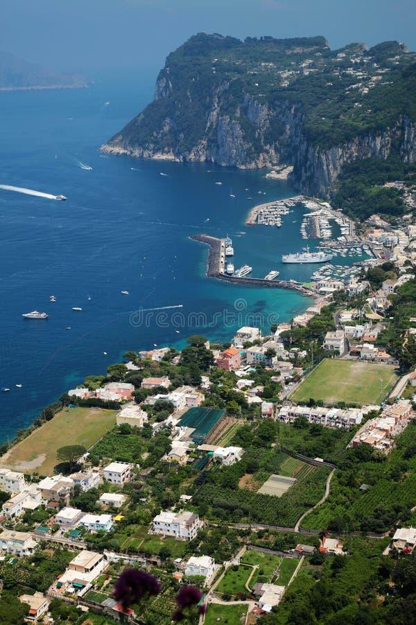 Capri Insel lizenzfreie stockfotografie