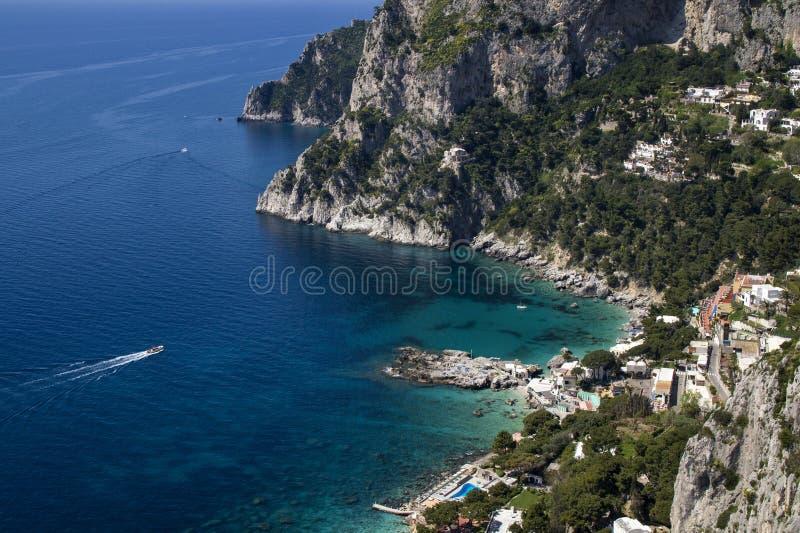 Capri-Insel stockfotos