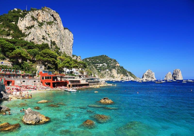 Capri-Insel lizenzfreie stockbilder