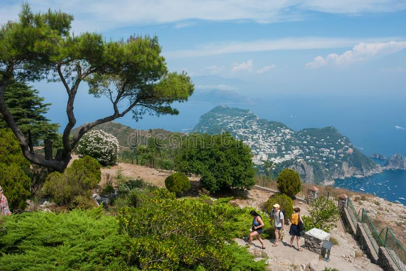 Capri Insel, Italien lizenzfreie stockfotografie