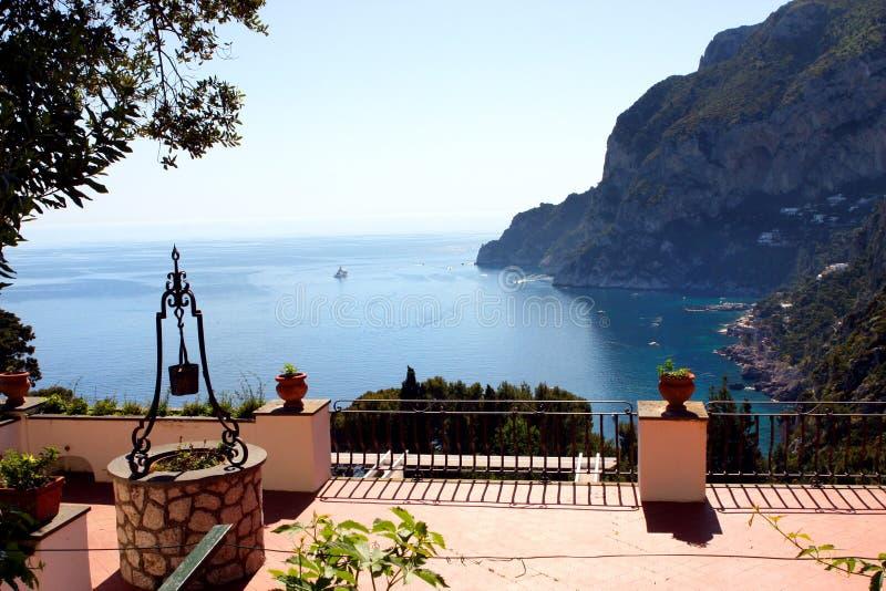 Capri-Insel - Italien stockfotos