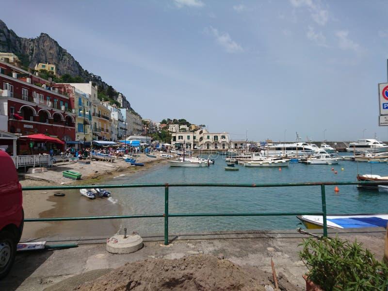Capri Isalnd zdjęcie royalty free