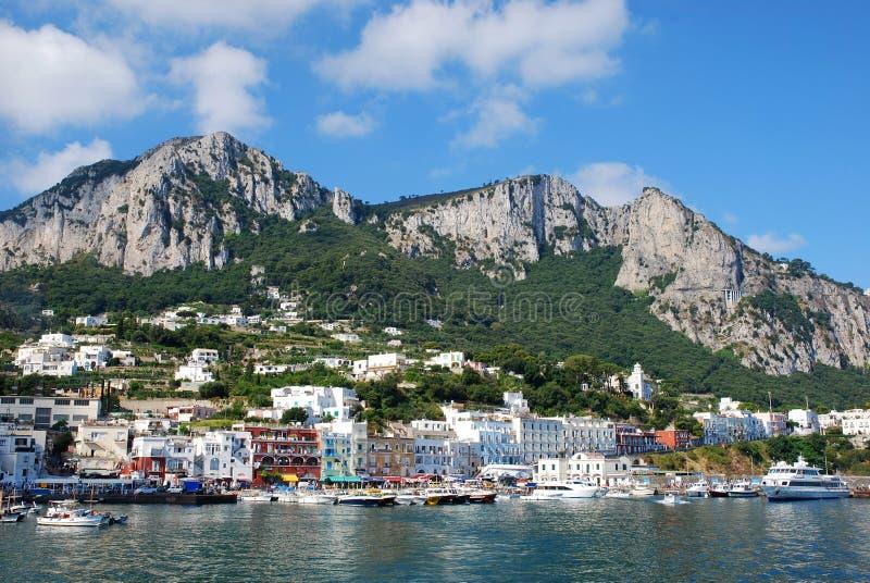 Capri island royalty free stock photo