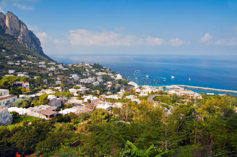 Download Capri Island in Italy stock image. Image of tranquil - 12774405