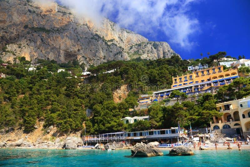 Download Capri Island, Italy, Europe Stock Image - Image of mountain, coastline: 39514345