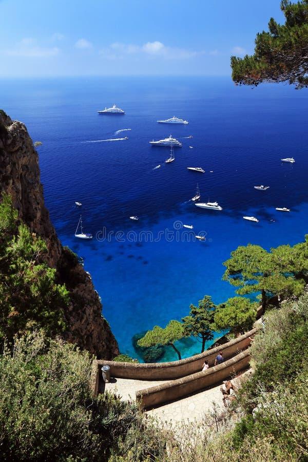 Download Capri Island, Italy, Europe Stock Image - Image of campania, mountains: 39514419