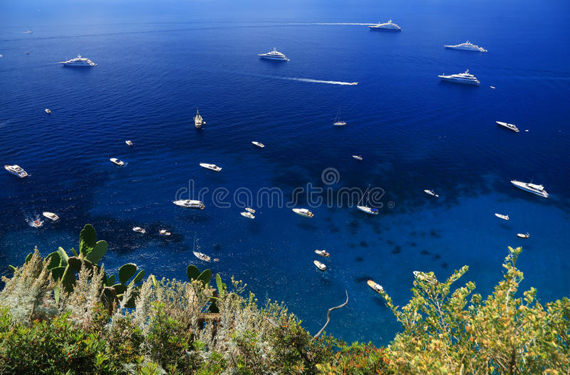 Download Capri Island, Italy, Europe Stock Image - Image of blue, mediterranean: 39514457