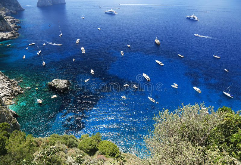 Download Capri Island, Italy, Europe Stock Image - Image of rocks, scenery: 39514477