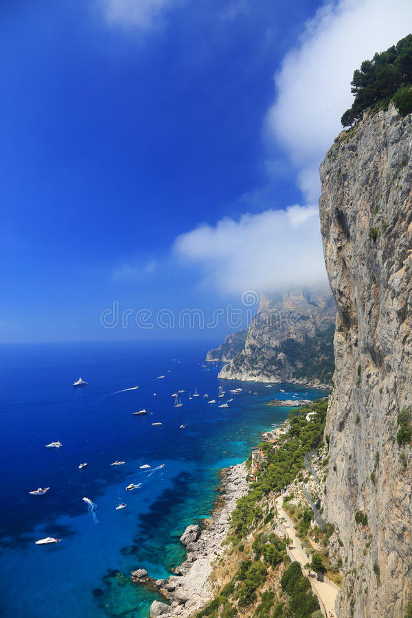 Download Capri Island stock photo. Image of relax, capri, luxury - 39514448
