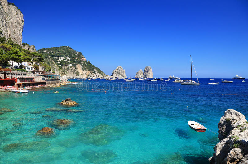 Download Capri Island stock image. Image of catalog, nature, seaside - 39514631