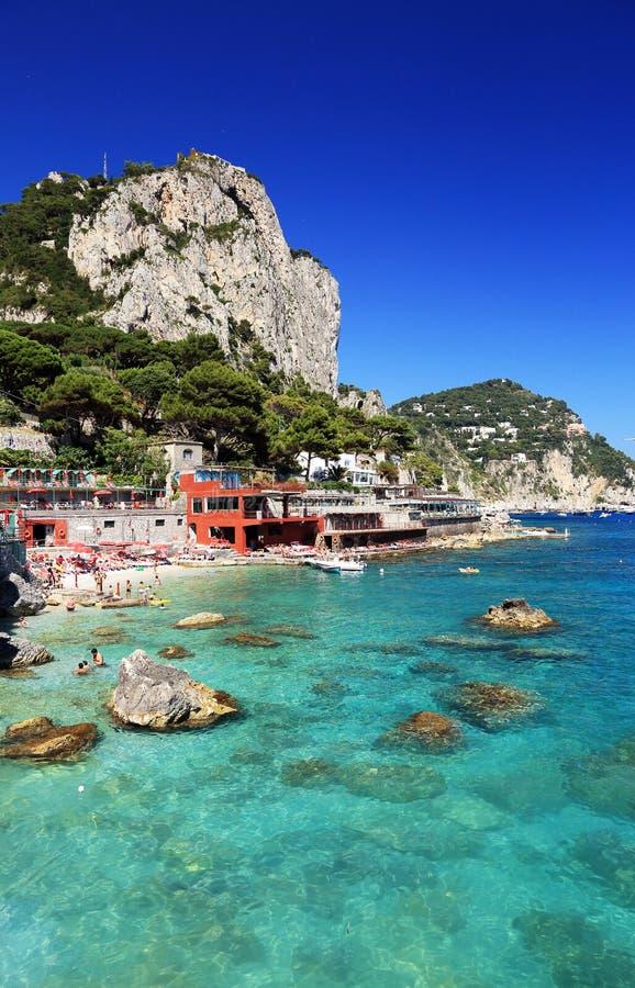 Download Capri Island stock image. Image of light, italian, landscape - 39514635
