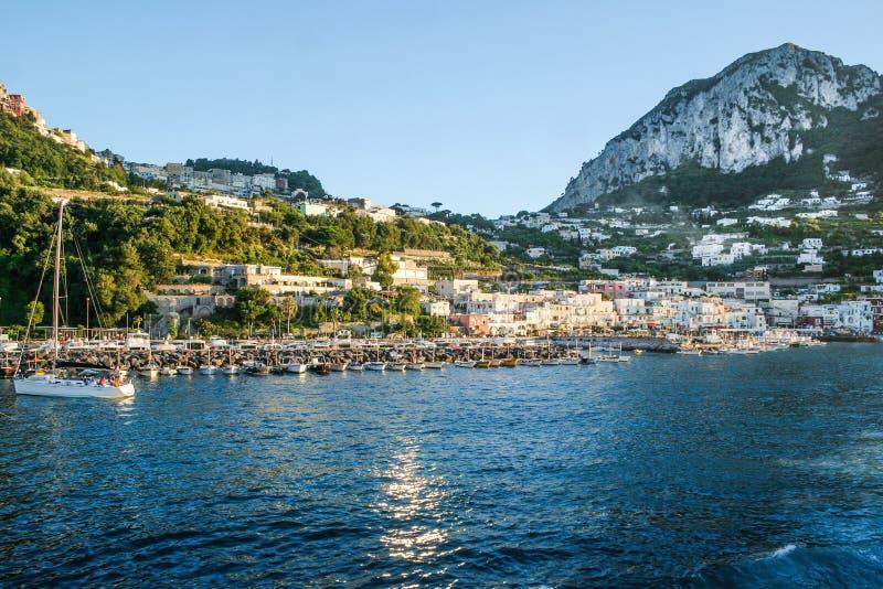 Capri, Italien stockbild