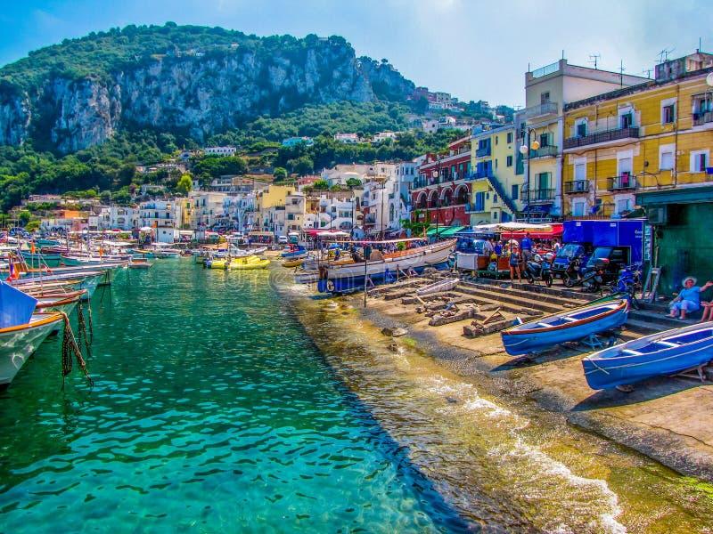 Capri, Italien stockbilder