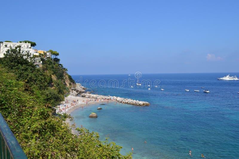 Capri, Italien 2014 Sea stockbilder