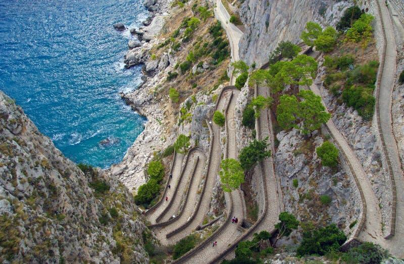 capri Italy krupp przez obraz royalty free