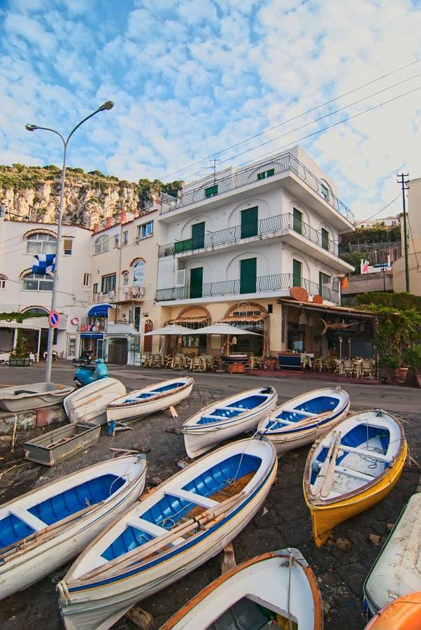 Capri. l'Italie. images libres de droits