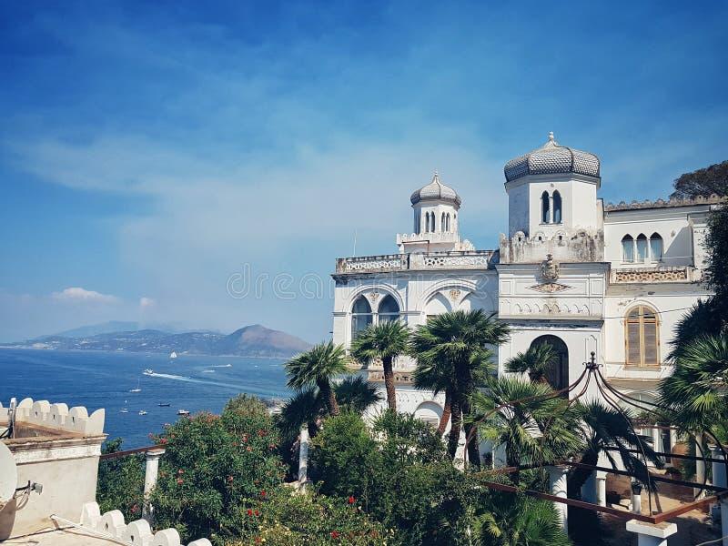 Capri siedziba zdjęcia royalty free