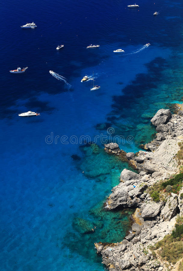 Capri wyspa fotografia stock