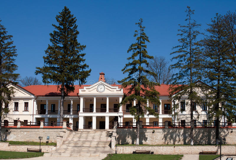 Download Capriana Monastery, Main Building Stock Image - Image: 19680541