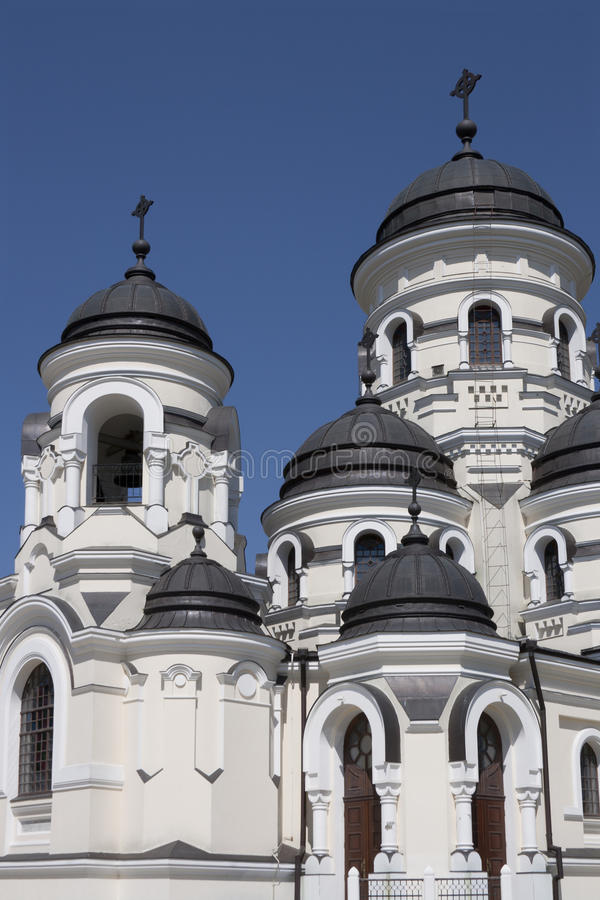 Capriana monastery, the winter church royalty free stock photos