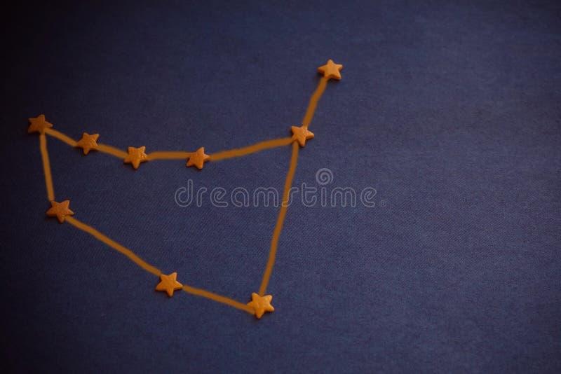 Capricórnio da constelação, astrologia imagens de stock royalty free