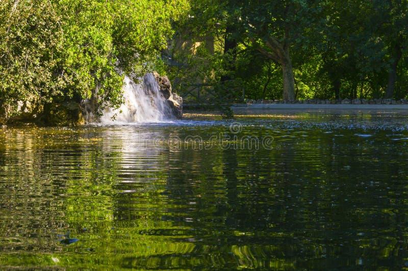 Capricho vattenfall arkivbild