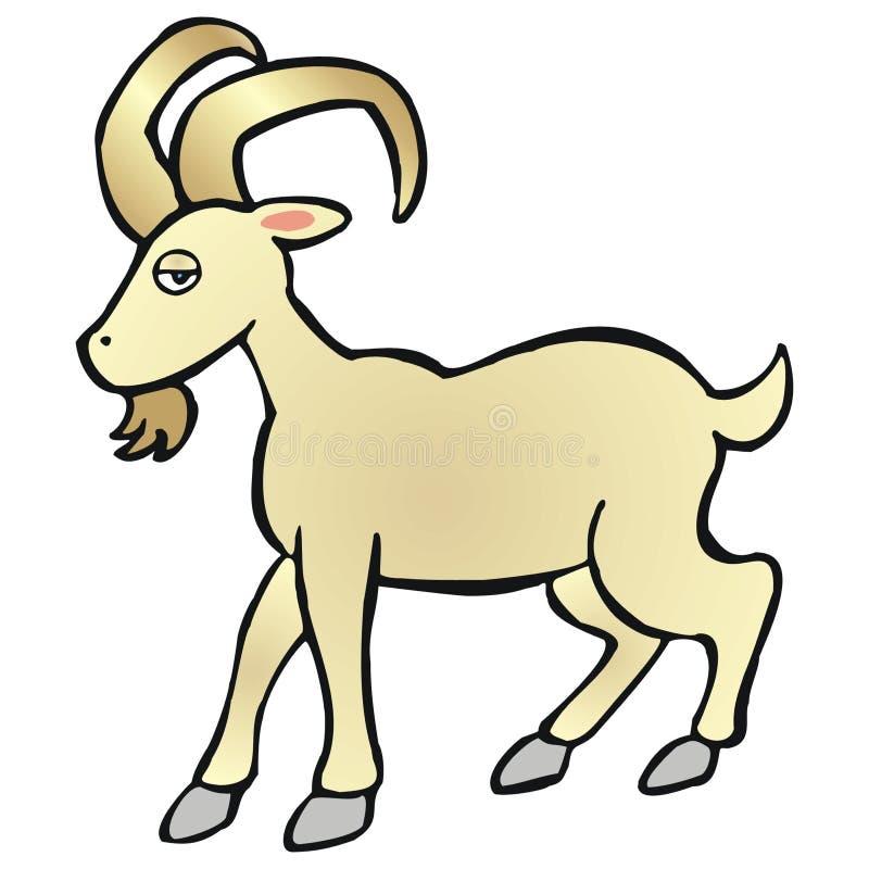 Capricorn illustrazione vettoriale