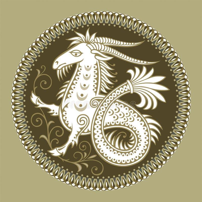 capricorn ilustracji