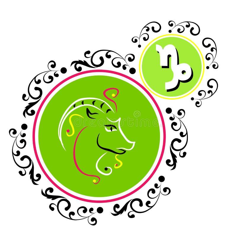capricorn stock illustrationer