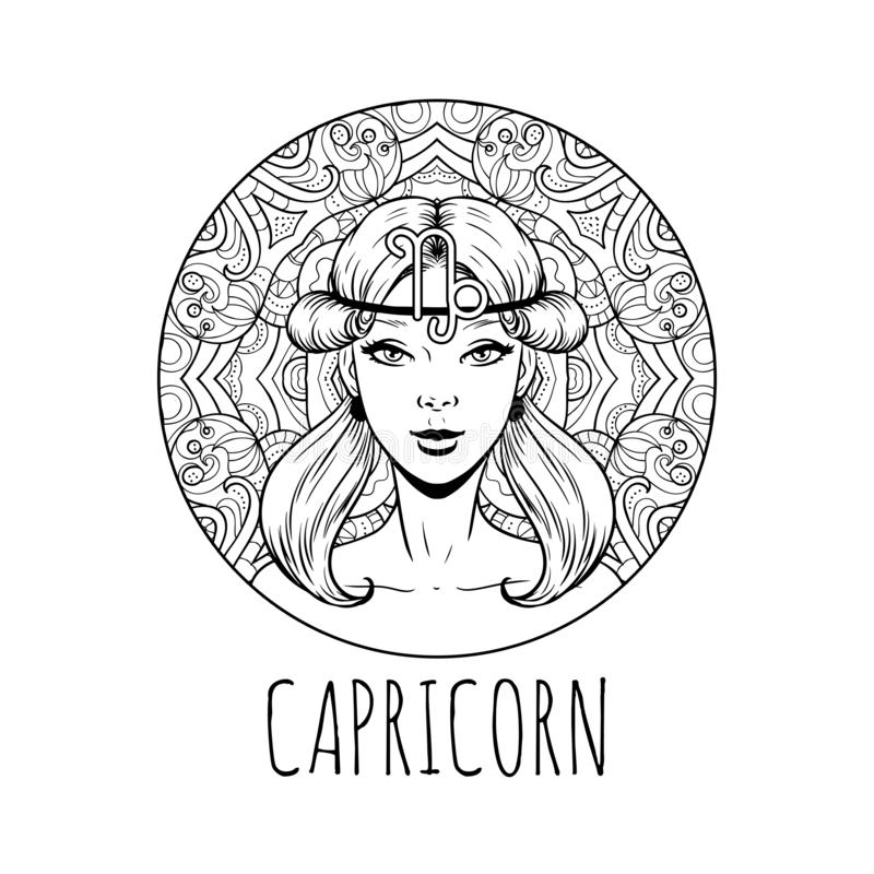 Virgo: Coloring Book with Three Different Styles of All Twelve Signs of the  Zodiac. 36 Individual Coloring Pages. 8.5